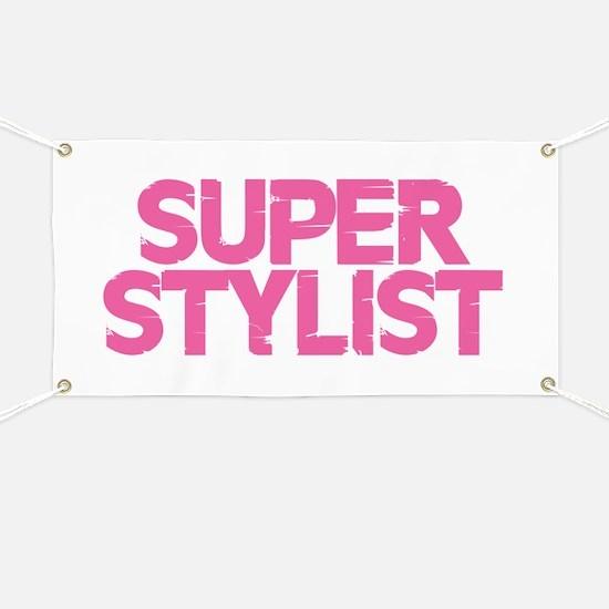 Super Stylist - Pink Banner