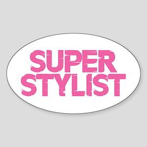 Super Stylist - Pink Sticker