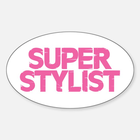 Super Stylist - Pink Decal