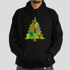 Tuba Christmas Hoodie (dark)