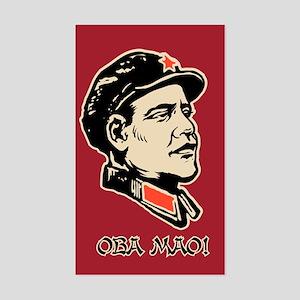 Obama Parody Sticker (Rectangle)