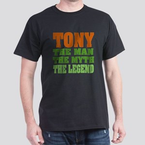 TONY - The Legend Black T-Shirt