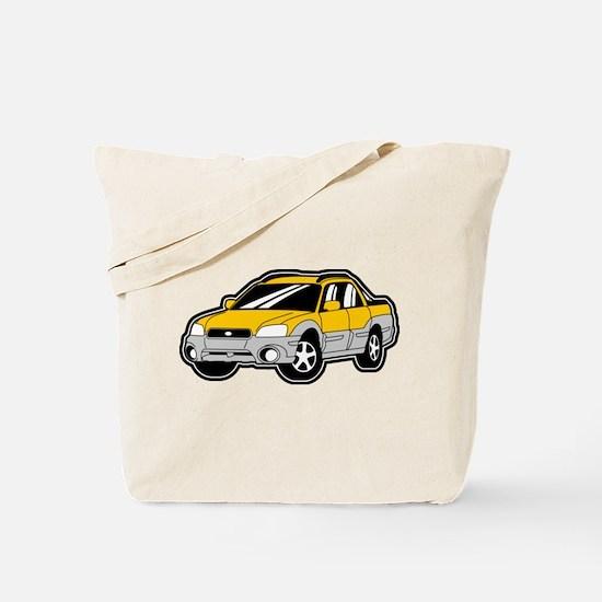 Baja Yellow Tote Bag