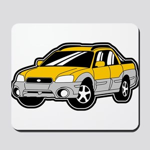 Baja Yellow Mousepad