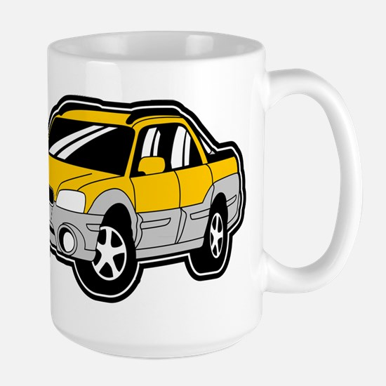 Baja Yellow Large Mug