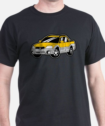 Baja Yellow T-Shirt
