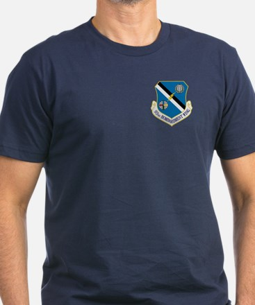 93rd Bomb Wing Men's Fitted T-Shirt (Dark)