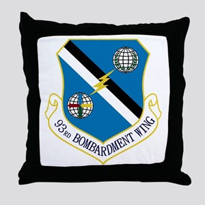 93rd Bomb Wing Throw Pillow
