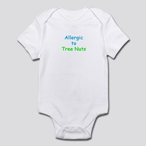 Allergic To Tree Nuts Infant Bodysuit