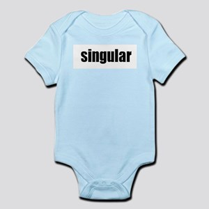 """Singular"" Infant Bodysuit"
