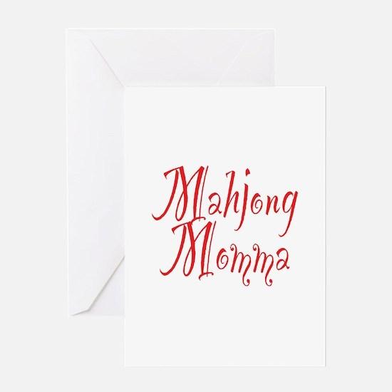 Mahjong Momma Greeting Card