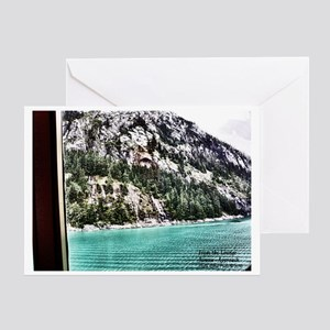 APPROACH TO JUNEAU Greeting Card