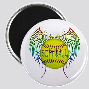 Tribal softball Magnet