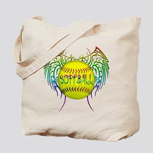 Tribal softball Tote Bag