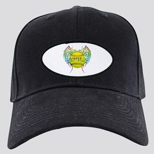 Tribal softball Black Cap