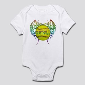 Tribal softball Infant Bodysuit