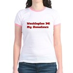 Washington DC My Hometown Jr. Ringer T-Shirt