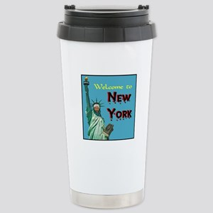 UNWELCOME MOSQUE Stainless Steel Travel Mug