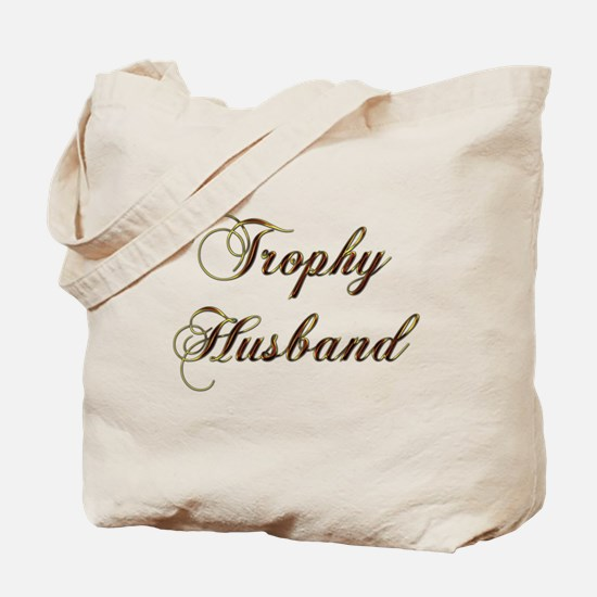Unique Trophy husband Tote Bag
