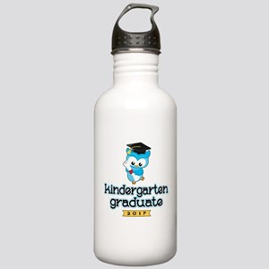 Kindergarten Grad 2017 Stainless Water Bottle 1.0L