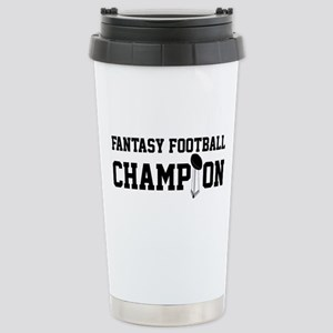 Fantasy Football Champion w/ Trophy Stainless Stee