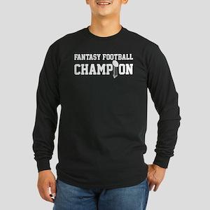 Fantasy Football Champion w/ Trophy Long Sleeve Da
