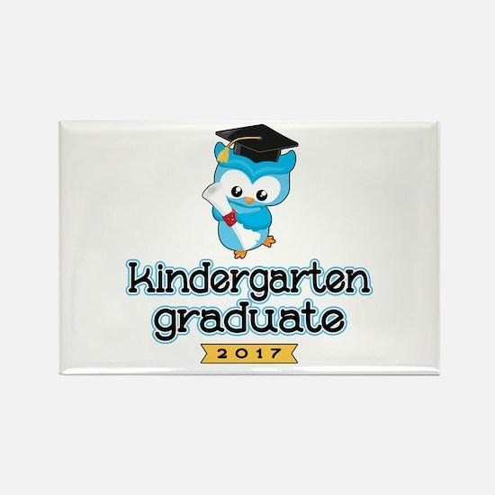 Kindergarten Grad 2017 Rectangle Magnet (100 pack)