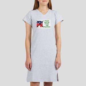Friends don't let friends vote GOP T-Shirt