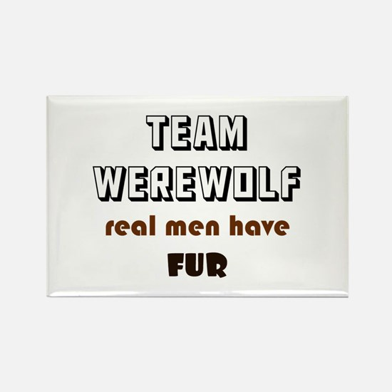 Team Werewolf Rectangle Magnet