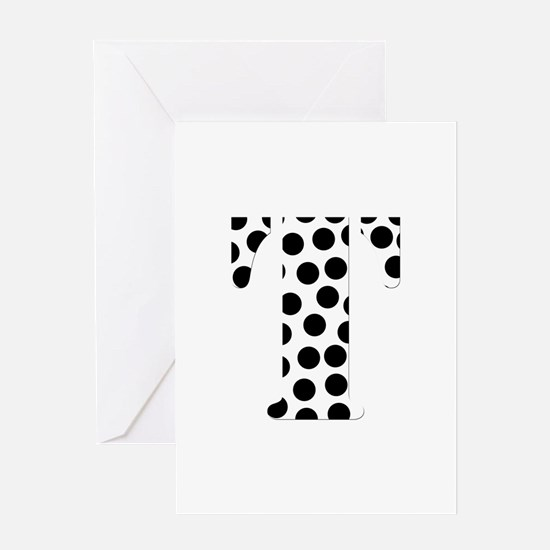 The Letter 'T' Greeting Card