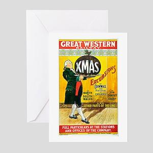 Vintage Great Western Railway Greeting Cards (Pk o