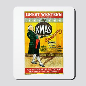 Vintage Great Western Railway Mousepad