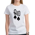 Qs10s Poker Women's T-Shirt