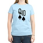 Qs10s Poker Women's Light T-Shirt