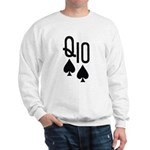 Qs10s Poker Sweatshirt