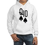 Qs10s Poker Hooded Sweatshirt