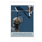 Sudden Death Postcards (package Of 8)