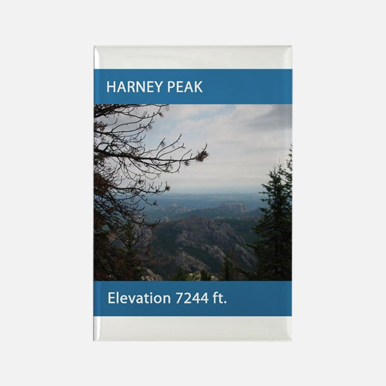 Harney Peak Rectangle Magnet