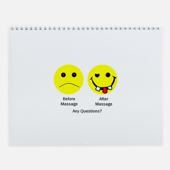 Any Questions Wall Calendar