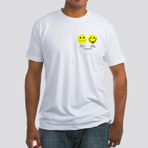 Any Questions Fitted T-Shirt