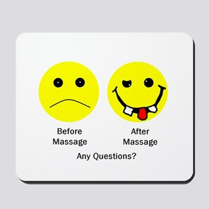 Any Questions Mousepad