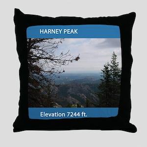 Harney Peak Throw Pillow