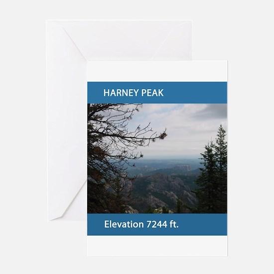 Harney Peak Greeting Card