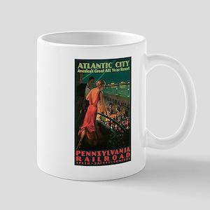 Vintage 1935 Atlantic City NJ Mug