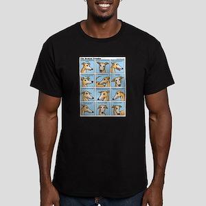 The Broken Promise Men's Fitted T-Shirt (dark)