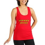 """Keep Back 500 Feet. This Is My """"Me Tank Top"""