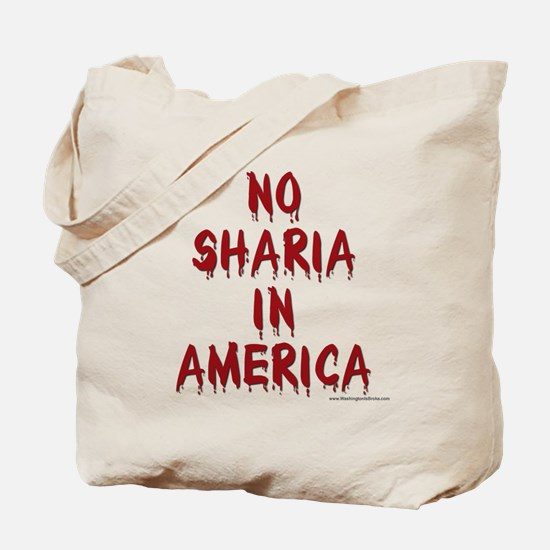 No Sharia: Tote Bag