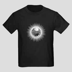 Disco Ball Kids Dark T-Shirt