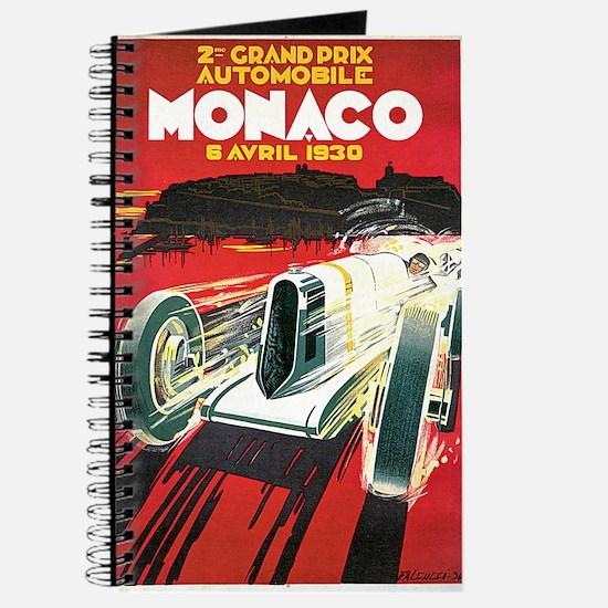 Vintage 1930 Monaco Auto Race Journal