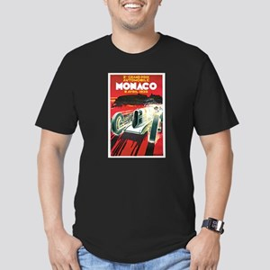 Vintage 1930 Monaco Auto Race Men's Fitted T-Shirt